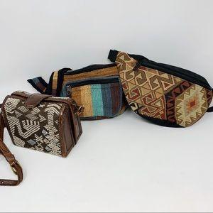 3-Piece Boho Chic Bag Bundle